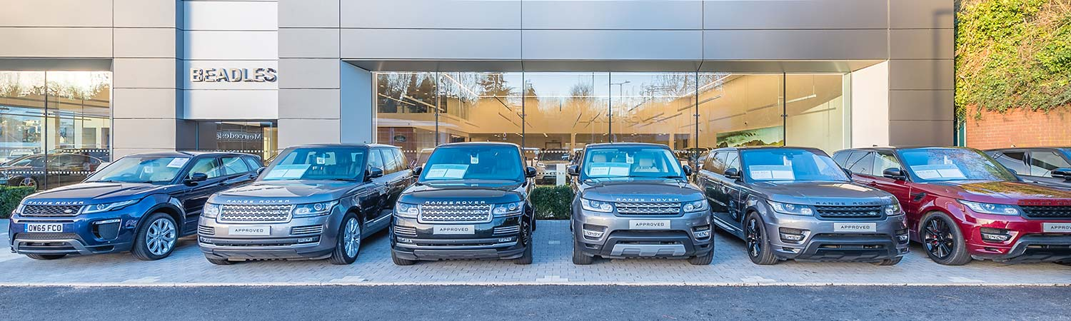 Land Rover Dealer in Watford, Hertfordshire. Contact us for new and